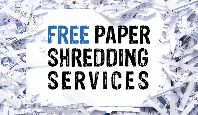 free paper shredding services