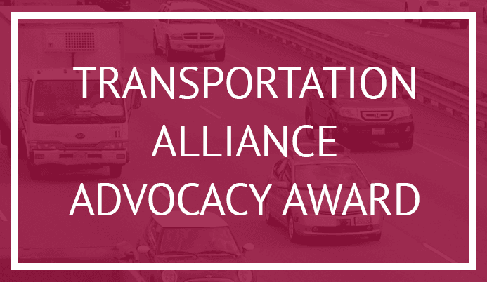 Transportation Alliance Advocacy Award